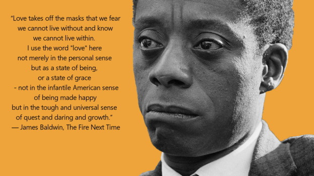 Foto James Baldwin van theringer.com